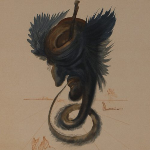The Black Cherub (from the Divine Comedy Series)
