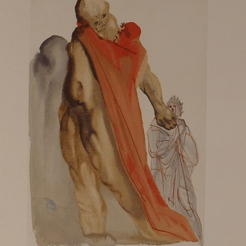 The Reproach of Virgil (from the Divine Comedy Series)