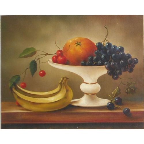Still Life with Fruit and Stand`