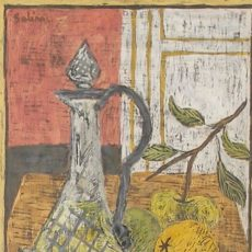 Untitled (Decantor With Fruit)