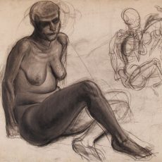 Female Nude- Seated